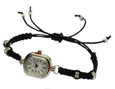 Bracciale in macramè orologio semplice