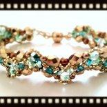 Grace bracelet (da uno schema di Sabine Lippert)