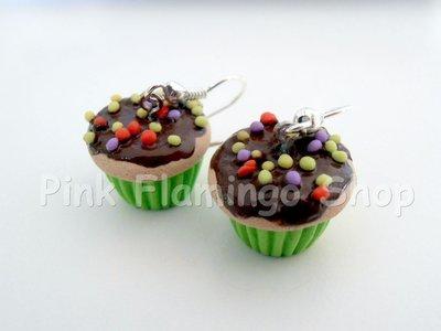 Cupcake - Orecchini in Fimo 3