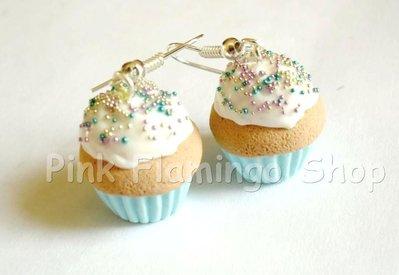 Orecchini Cupcakes in Fimo 5