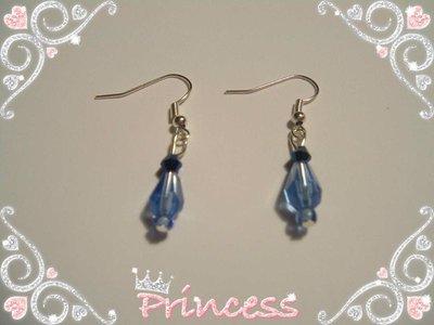 Orecchini Blu Notte Princess
