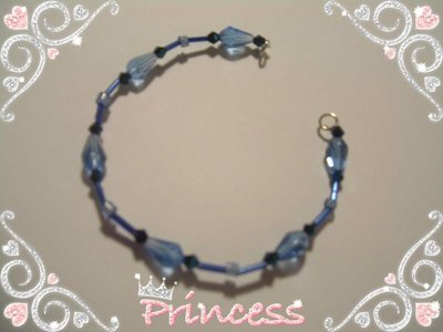 Braccialetto Blu Notte Princess