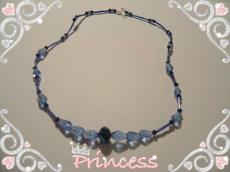 Collana Blu Notte Princess