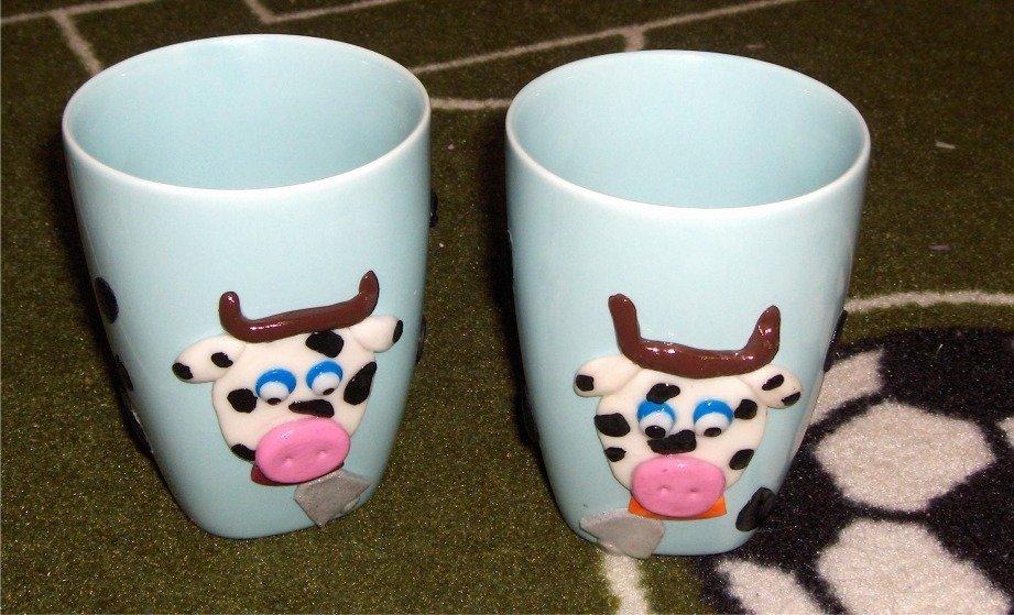 Tazze mug con mucca