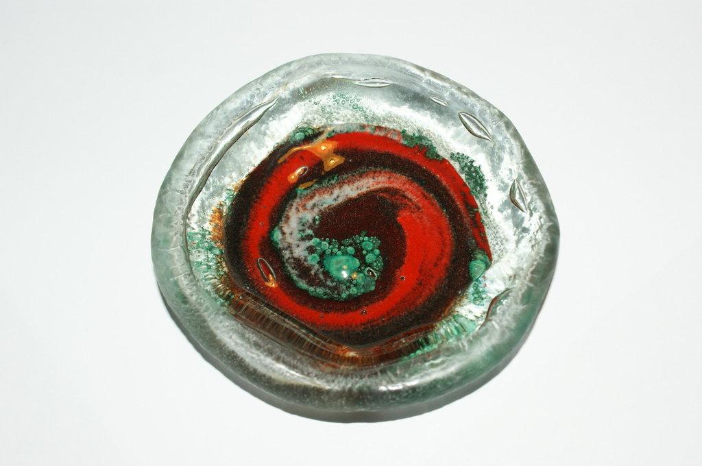forma in vetro colorato