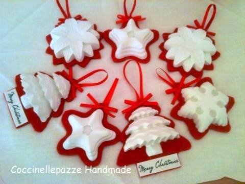 Addobbi albero decorazioni natalizie con gessi profumati for Decorazioni natalizie con la pasta