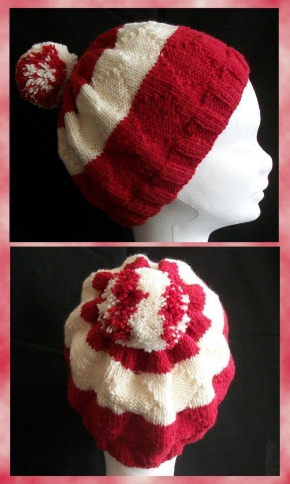 Cappello - rosso crema