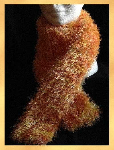Sciarpina pelouche giallo