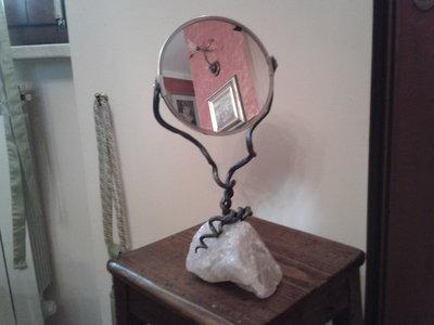 "Specchio ""Quarzo Rosa"""