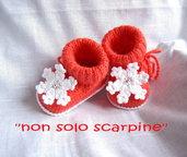 """Le scarpine """"il fiocco di neve"""""""