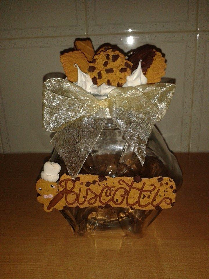 Barattolo biscotti con ginger bread