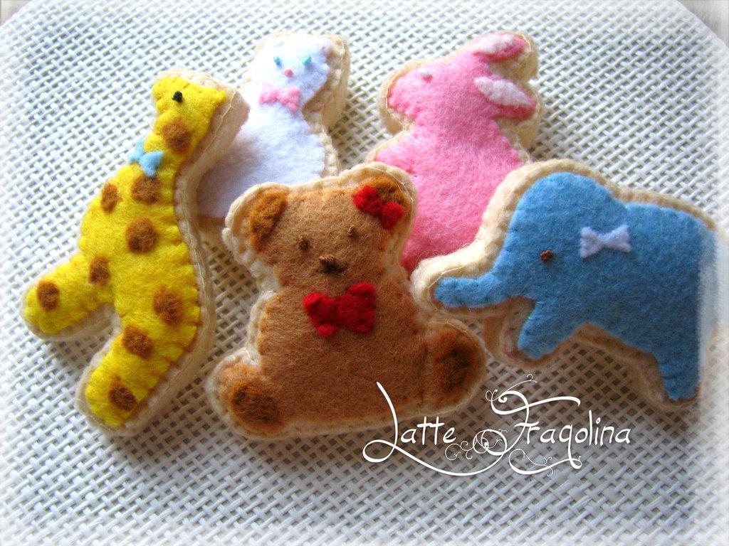 Biscotti di zucchero animali