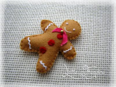 Biscotto allo zenzero di Natale