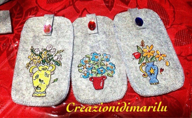 Custidie per smartphone fiori