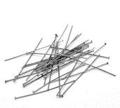 50 Chiodini Spilli con Testa Piatta Canna di fucile 5 cm