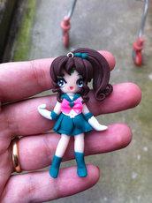 Ciondolo Sailor Jupiter Handmade Fimo SU ORDINAZIONE