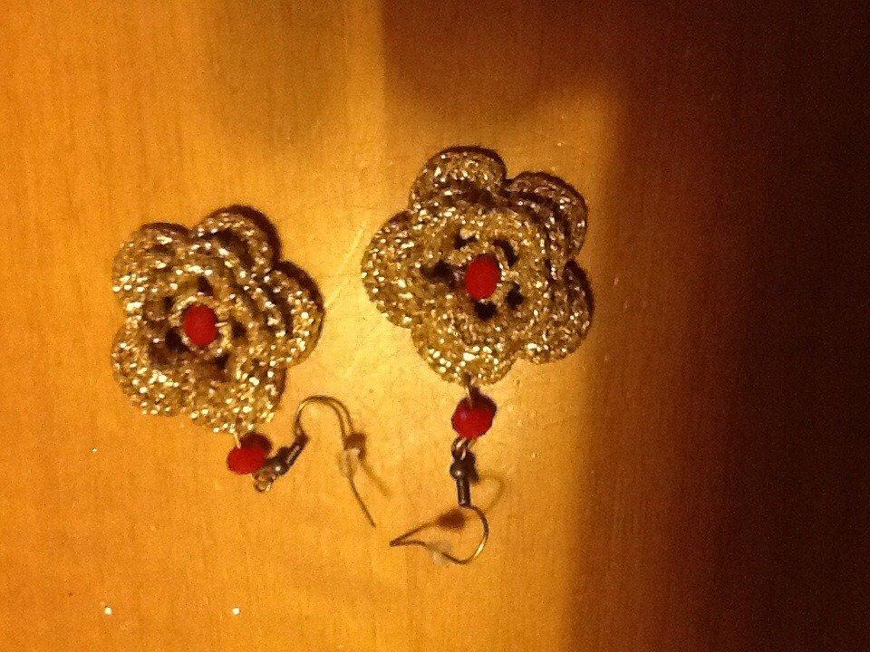 orecchino Rose