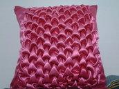 copri cuscino in raso