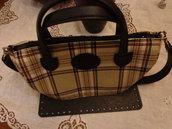 Kit per borse in fettuccia : parte alta e fondo ecopelle