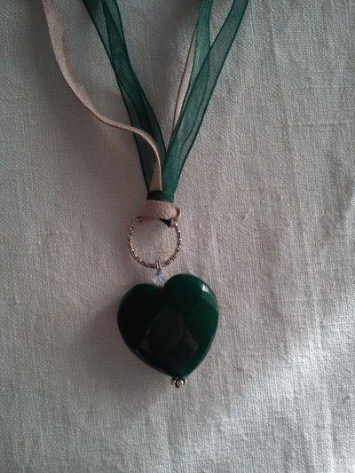Ciondolo in radice di smeraldo
