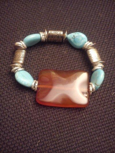braccialetto corniola