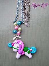 Collana Pony in Fimo
