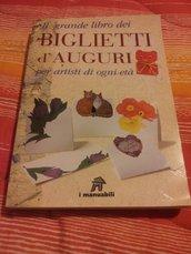"""Libro """" Il grande libro dei biglietti di auguri"""""""