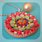 FRUIT TART necklace