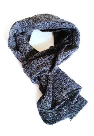 Sciarpa a maglia in lana garzata (art. 45)