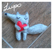 Lupo mini peluche  ♥ -once upon a time-