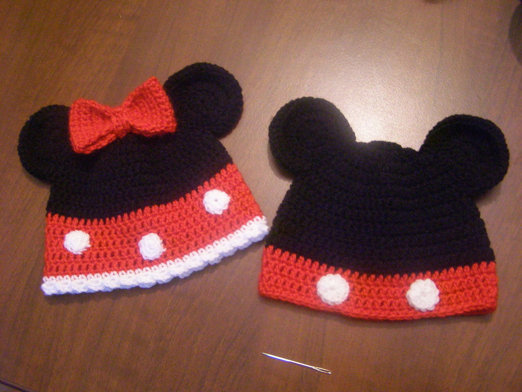 Cappello Uncinetto Minnie/Topolino