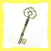 Chiave bronzo 3x8,1cm