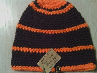 _cappello uomo donna  ragazzo in lana, fatto a mano all'uncinetto C054