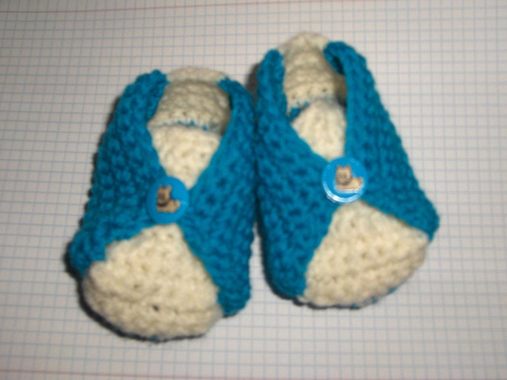 Scarpine scarpette neonato bimbo 0/6 mesi