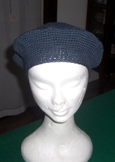 Basco berretto cappello donna uncinetto