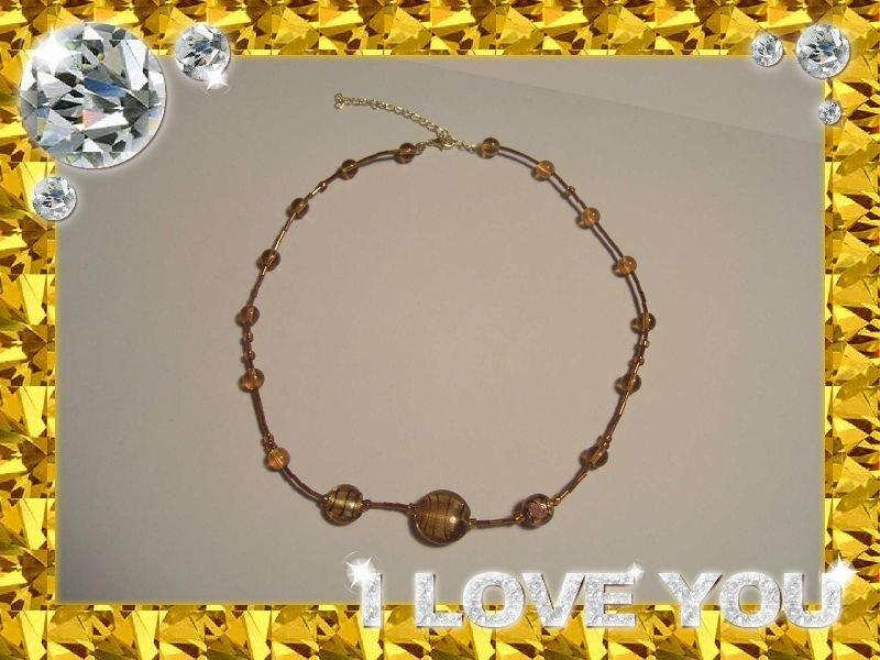 Collana Oro Trasparente