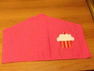 Tovagliette rosa a forma di casa