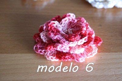 Flor Crochet Mod. 6