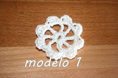 Flor Crochet Mod. 1