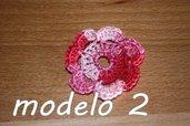 Flor Crochet Mod. 2