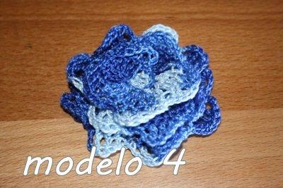 Flor Crochet Mod. 4