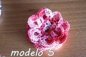 Flor Crochet Mod. 5