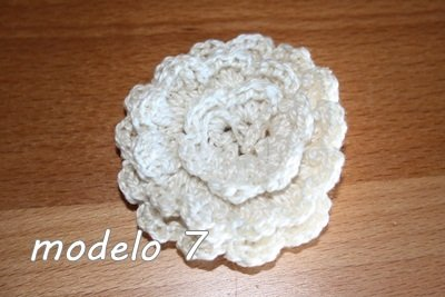 Flor Crochet Mod. 7