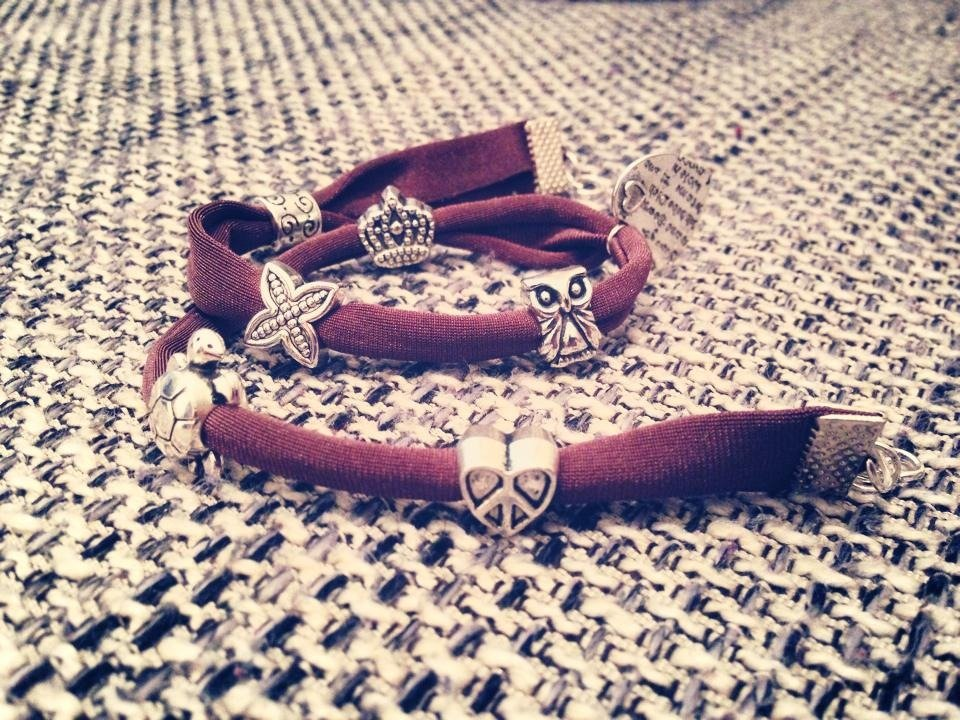 Bracciale Charms Marrone