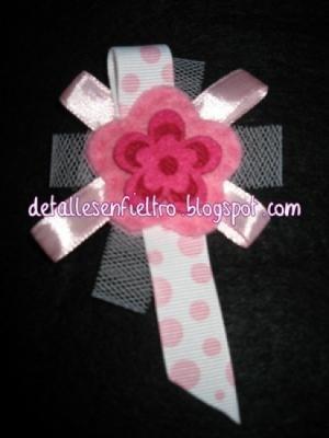 Broche Flor Rosa
