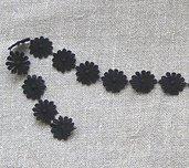 collana/orecchini pizzo nero
