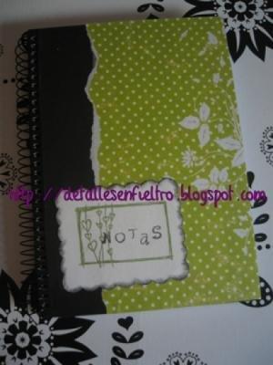 Cuaderno Topos Verde