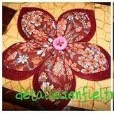 Flor de Tela   Ref. 003