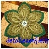 Flor de Tela   Ref. 006