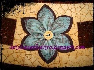 Flor de Tela   Ref. 008